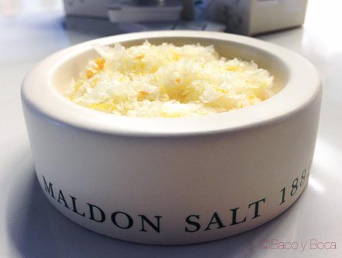 Sal Maldon con citricos bacoyboca