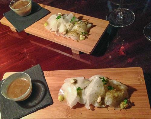 sopa de champiñones y daikon restaurant pla bacoyboca