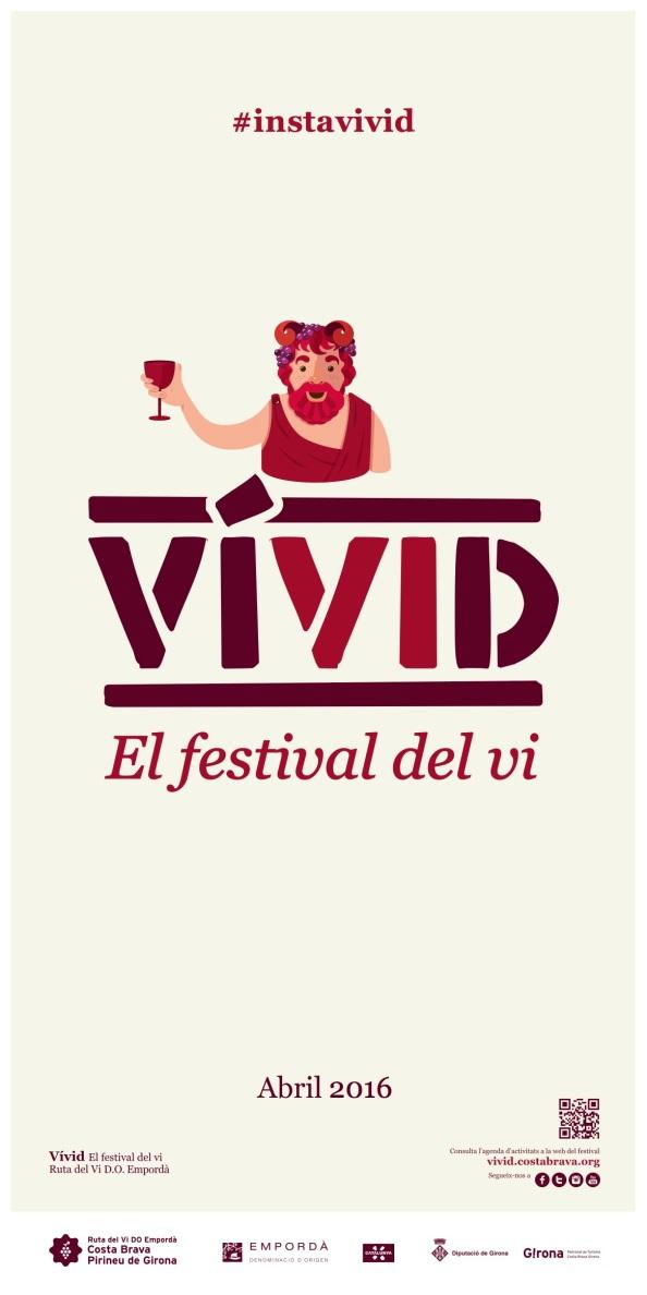 Vívid, el festival del vino de la CostaBrava.
