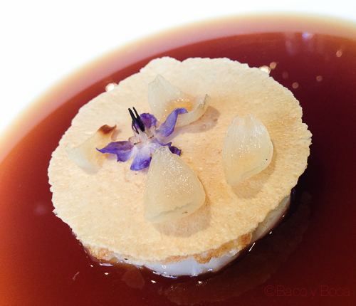 sopa cebolla renovada al horno de leña city bar baco y boca