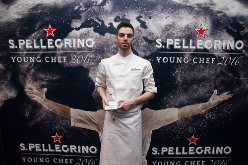 David Andrés, gana la Final Ibérica de San Pellegrino Young Chef