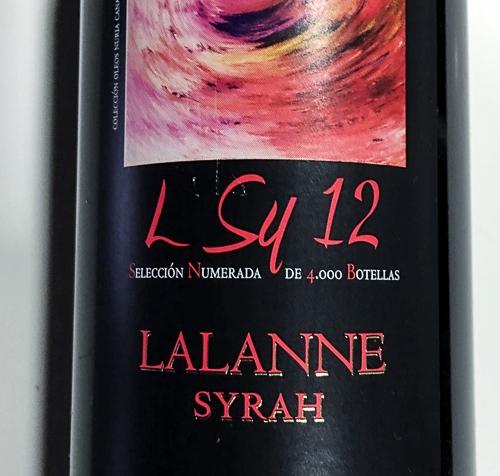 Lalanne Syrah 2012 (DOSomontano)