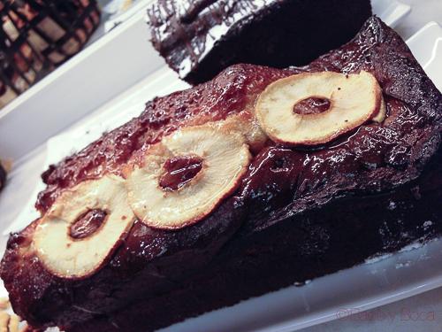 pastel manzana desayuno avenida palace baco y boca