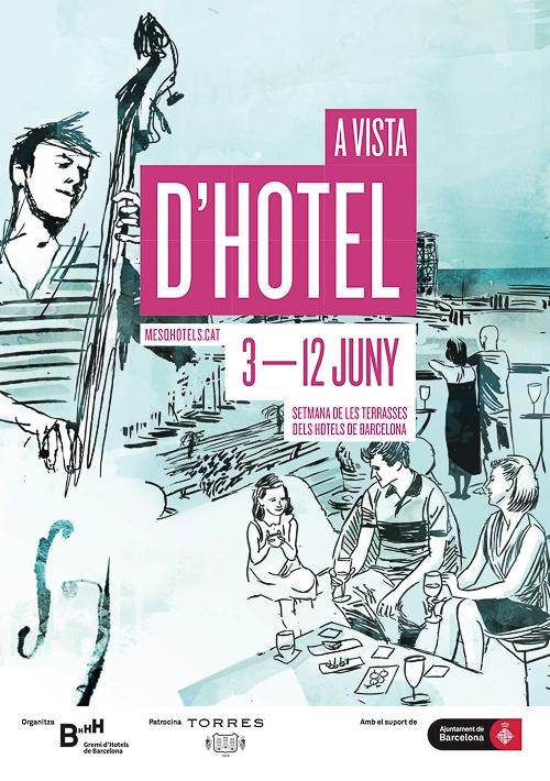 Semana de las terrazas de los Hoteles deBarcelona
