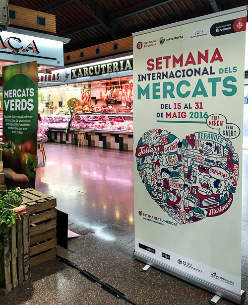 Semana Internacional dels Mercats Verds Barcelona Baco y boca