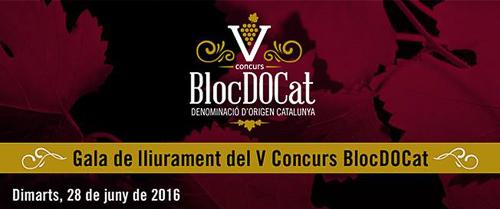 V Edición del ConcursBlocDOCat.