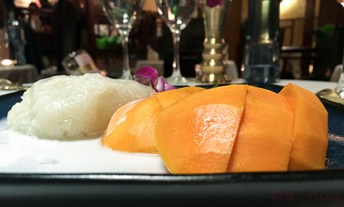KHAO NIAO MAMUANG en thai garden baco y boca