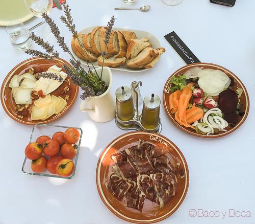 mesa comida cal xim albet i noya Vijazz